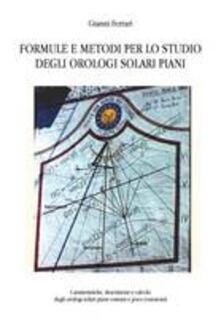 Osteriamondodoroverona.it Formule e metodi per lo studio degli orologi solari piani Image