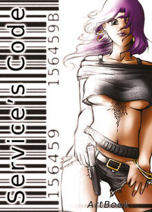 Service's Code. ArtBook - Emanuela Locatelli - copertina