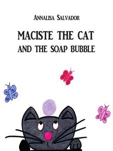 Maciste the cat and the soap bubble