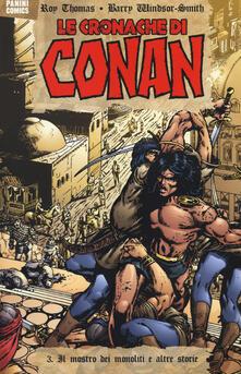 Fondazionesergioperlamusica.it Il mostro dei monoliti e altre storie. Le cronache di Conan. Vol. 3 Image