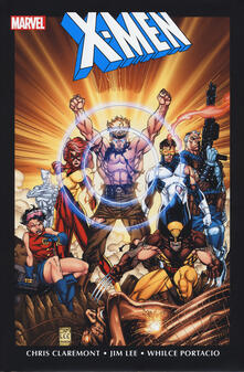 X-Men. Marvel Omnibus. Vol. 2 - Chris Claremont,Jim Lee,Whilce Portacio - copertina