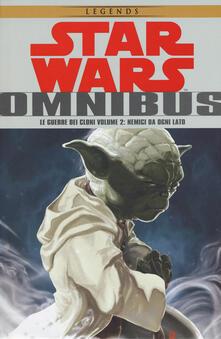 Letterarioprimopiano.it Le guerre dei cloni. Star Wars Omnibus. Vol. 2: Nemici da ogni lato. Image
