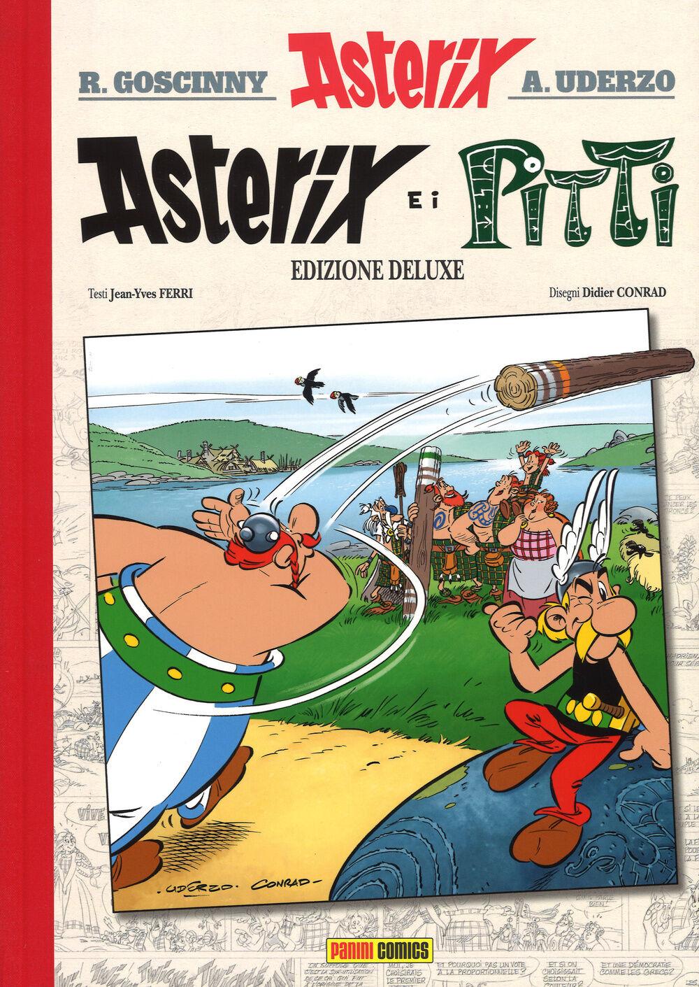 Risultati immagini per panini comics asterix ferri conrad