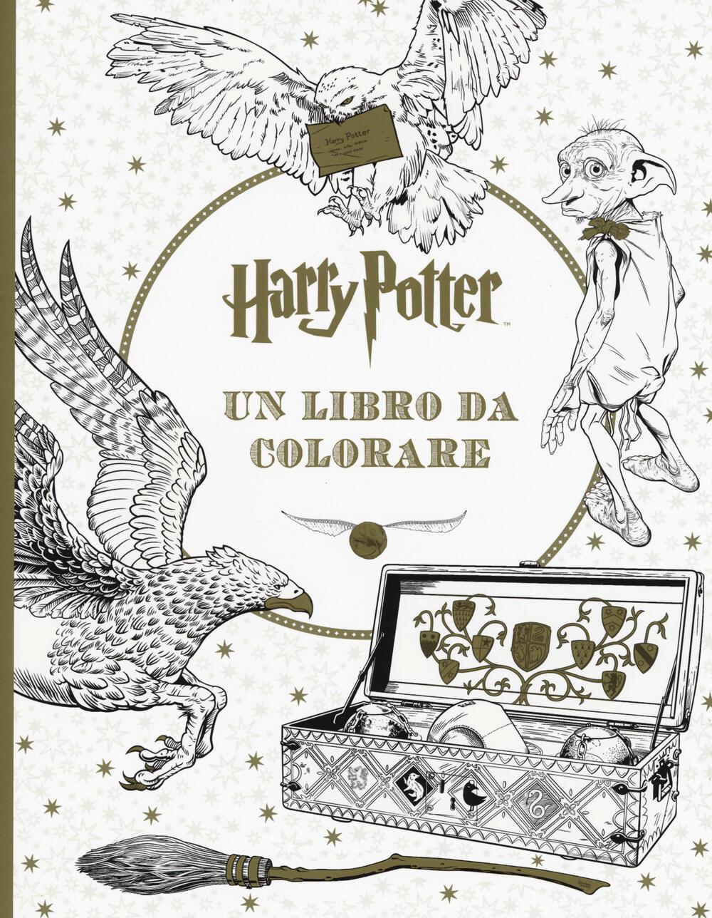 Harry potter un libro da colorare libro panini comics - Libro da colorare elefante libro ...