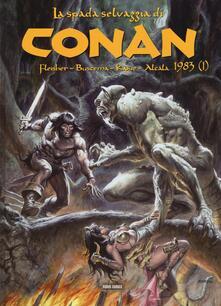 Capturtokyoedition.it La spada selvaggia di Conan (1983). Vol. 1 Image