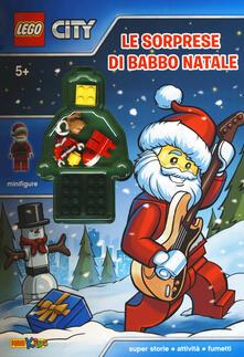 Recuperandoiltempo.it Le sorprese di Babbo Natale. Lego City. Ediz. a colori. Con Giocattolo Image
