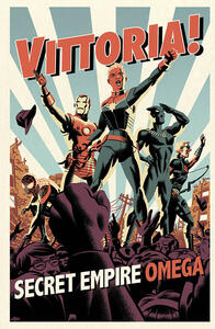 Secret Empire Omega. Variant Super FX