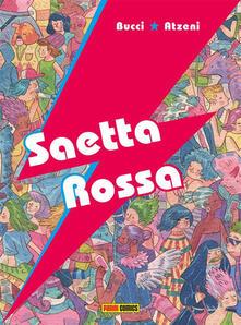 Saetta rossa - Marco B. Bucci - copertina
