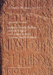 Ancient south Arabian within semitic and Sabaic within ancient south Arabian