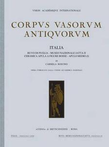 Corpus vasorum antiquorum. Italia. Vol. 80: Museo nazionale di Ruvo di Puglia. Ceramica medio-italiota.