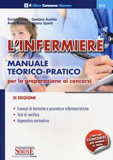 Camfeed.it L' infermiere. Manuale teorico-pratico per la preparazione ai concorsi Image