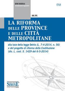 Luciocorsi.it La riforma delle province e delle città metropolitane Image