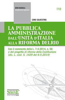 La pubblica amministrazione dallunità dItalia alla riforma Delrio.pdf