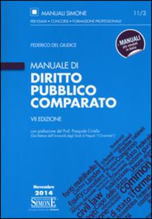 Mercatinidinataletorino.it Manuale di diritto pubblico comparato Image