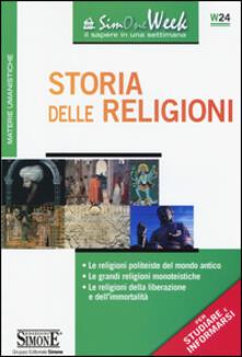 Camfeed.it Storia delle religioni. Le religioni politeiste del mondo antico. Le grandi religioni monoteistiche. Le religioni della liberazione e dell'immortalità Image