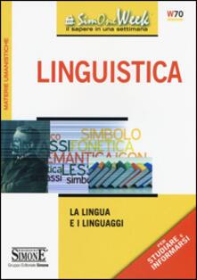 Voluntariadobaleares2014.es Linguistica. La lingua e i linguaggi Image