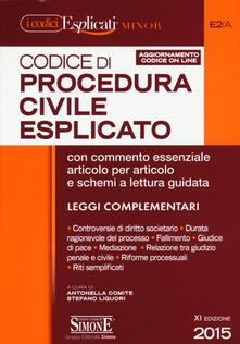 Warholgenova.it Codice di procedura civile esplicato. Ediz. minor. Con aggiornamento online Image