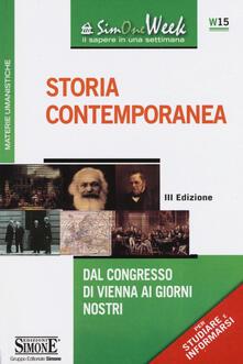Capturtokyoedition.it Storia contemporanea. Dal Congresso di Vienna ai giorni nostri Image