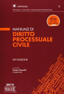 Daddyswing.es Manuale di diritto processuale civile Image