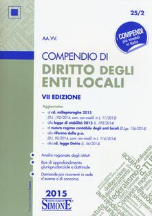 Winniearcher.com Compendio di diritto degli enti locali Image