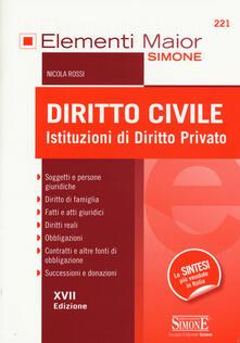 Steamcon.it Diritto civile. Istituzioni di diritto privato Image