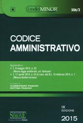 Codice amministrativo. Ediz. minore