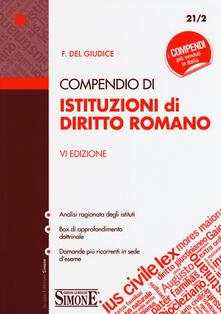 Compendio di istituzioni di diritto romano.pdf