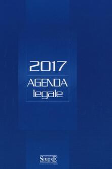Tegliowinterrun.it Agenda legale 2017. Blu. Ediz. minore Image