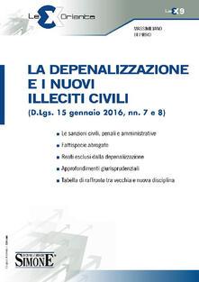 Winniearcher.com La depenalizzazione e i nuovi illeciti civili (D.Lgs. 15 gennaio 2016, nn. 7 e 8) Image