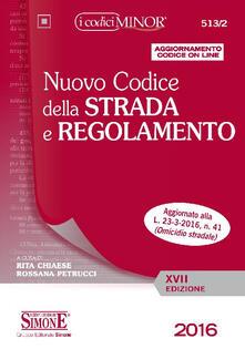 Vitalitart.it Nuovo codice della strada e regolamento. Ediz. minor. Con aggiornamento online Image
