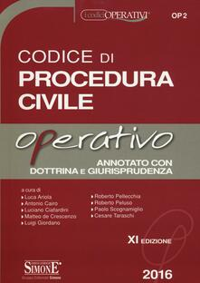 Antondemarirreguera.es Codice di procedura civile operativo Image
