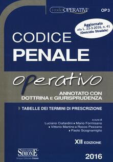 Codice penale operativo annotato con dottrina e giurisprudenza.pdf