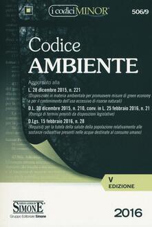 Antondemarirreguera.es Codice dell'ambiente. Ediz. minor Image