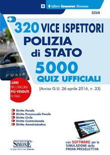 Rallydeicolliscaligeri.it 320 vice ispettori polizia di Stato. 5000 quiz ufficiali. Con software di simulazione Image