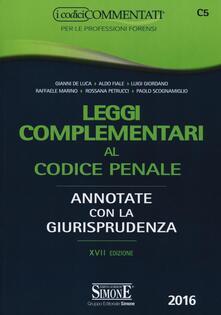 Leggi complementari al codice penale. Annotate con la giurisprudenza.pdf