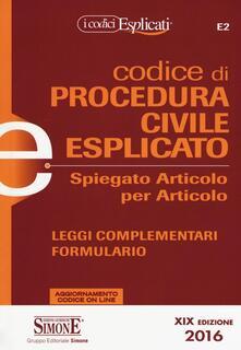 Daddyswing.es Codice di procedura civile spiegato articolo per articolo Image
