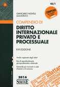 Libro Compendio di diritto internazionale privato e processuale Giancarlo Novelli