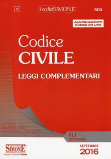 Codice civile. Leggi complementari. Con aggiornamento online.pdf