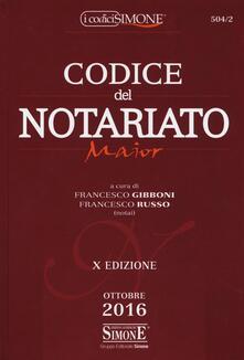 Codice del notariato. Ediz. maior.pdf