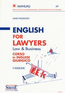 Ipabsantonioabatetrino.it English for lawyers. Corso di inglese giuridico Image