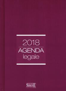 Agenda legale 2018 amaranto. Ediz. minore.pdf