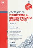 Libro Compendio di istituzioni di diritto privato (diritto civile)