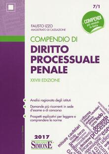 Listadelpopolo.it Compendio di diritto processuale penale Image