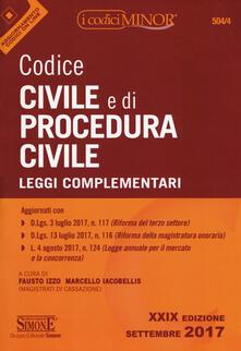Antondemarirreguera.es Codice civile e di procedura civile. Leggi complementari. Con aggiornamento online Image