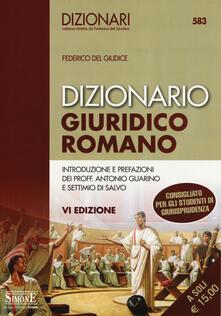 Camfeed.it Dizionario giuridico romano Image