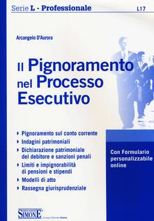 Antondemarirreguera.es Il pignoramento nel processo esecutivo. Con espansione online Image
