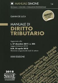 Manuale di diritto tributario - De Luca Gianni - wuz.it