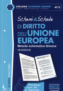 Schemi & schede di diritto dellUnione Europea.pdf