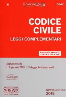 Equilibrifestival.it Codice civile. Leggi complementari Image