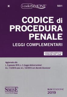 Winniearcher.com Codice di procedura penale e leggi complementari. Con aggiornamento online Image